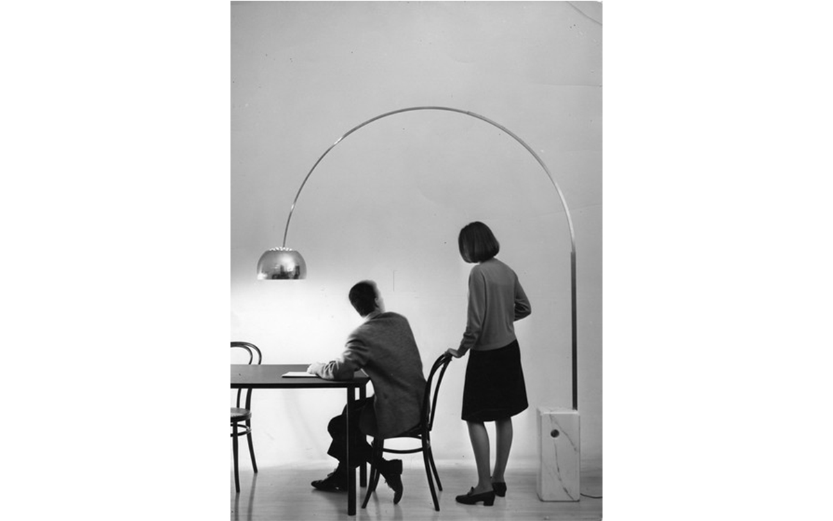 5 iconic design pieces-krome italian refurbishing-arco lamp 01