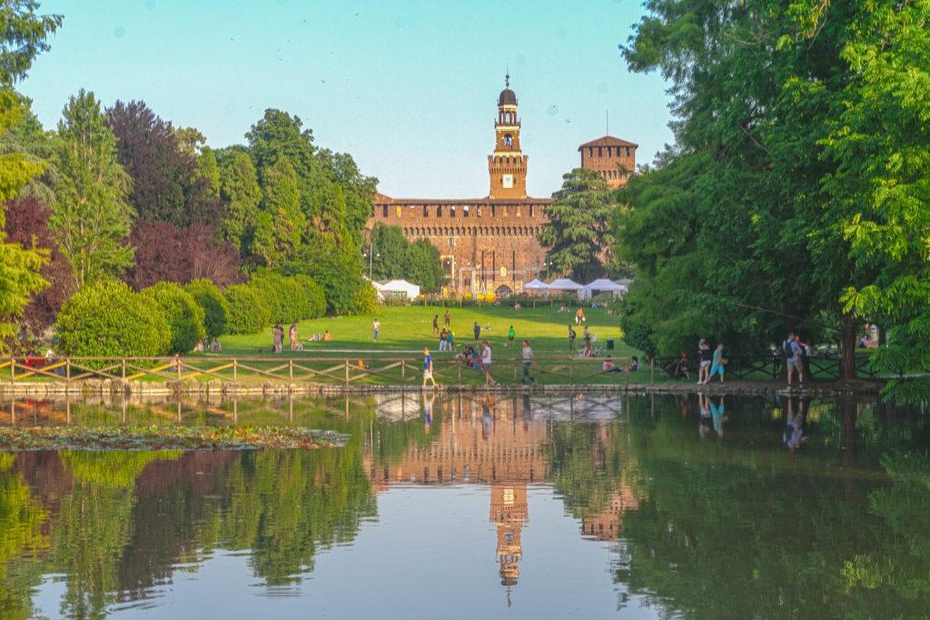 Castello Sforzesco in Milan
