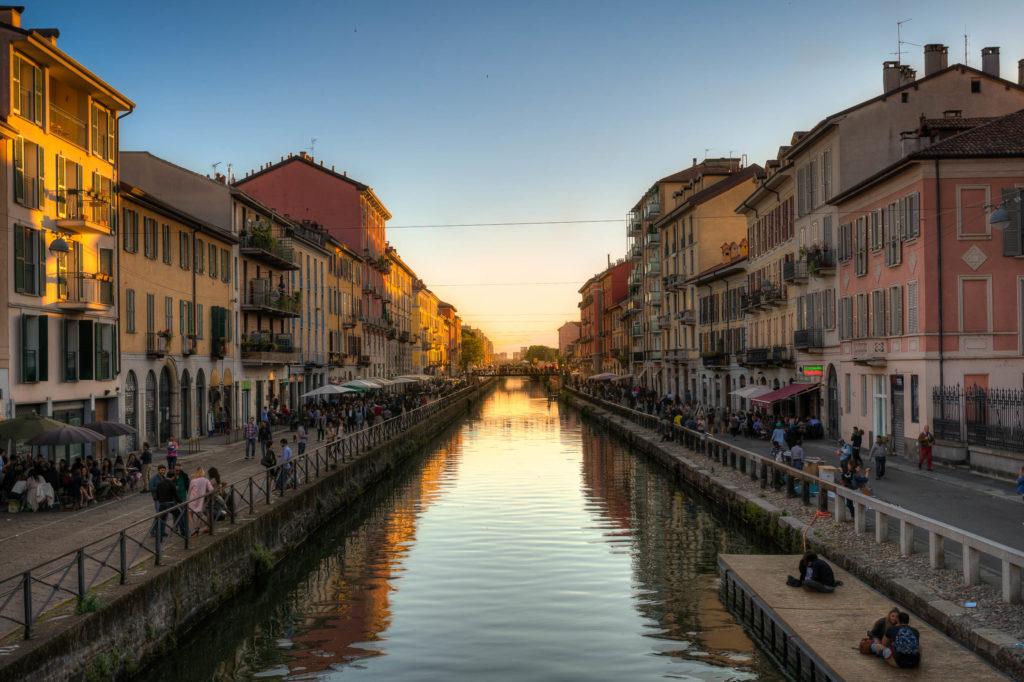 Naviglio Grande in Milan