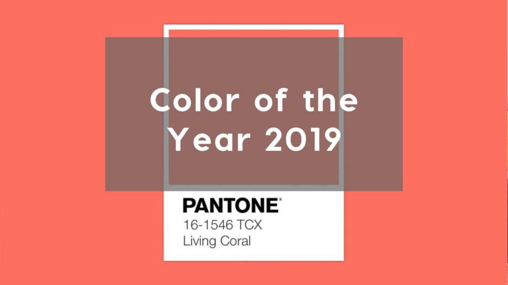 THE TOP COLOR TREND IN INTERIORS FOR 2019 ACCORDING TO PANTONE
